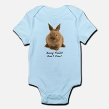 Bunny Rabbit Don't Care! Infant Bodysuit
