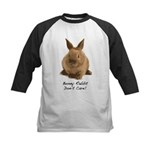 Bunny Rabbit Don't Care! Kids Baseball Jersey