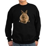 Bunny Rabbit Don't Care! Sweatshirt (dark)