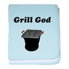 Grill God baby blanket
