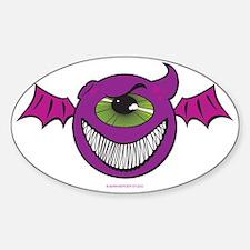 Purple People Eaters Sticker (Oval)