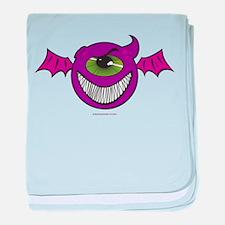 Purple People Eaters baby blanket