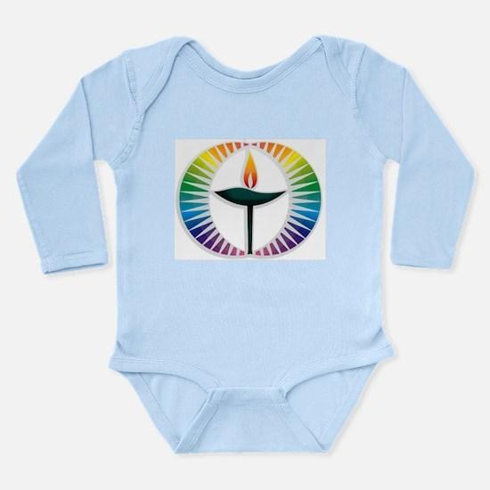 UU Rainbow Logo Baby Outfits
