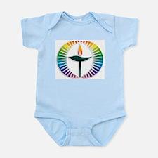 UU Rainbow Logo Infant Bodysuit
