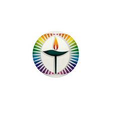 UU Rainbow Logo Mini Button (10 pack)