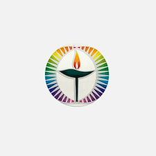 UU Rainbow Logo Mini Button