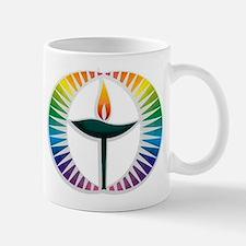 UU Rainbow Logo Mug