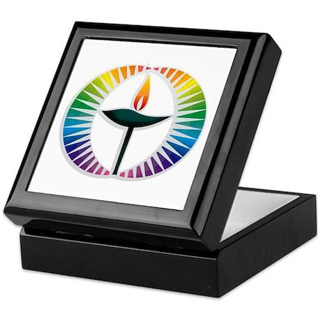 UU Rainbow Logo Keepsake Box