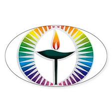 UU Rainbow Logo Decal