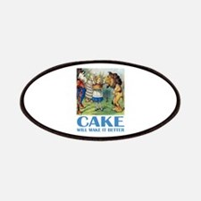 CAKE WILL MAKE IT BETTER Patches