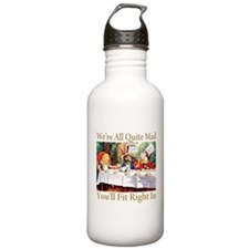 WE'RE ALL QUITE MAD Sports Water Bottle