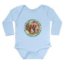 A FRIGHTFULLY UGLY BABY Long Sleeve Infant Bodysui