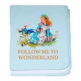Alice wonderland Blanket