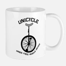Unicycle Mobile Device Mug