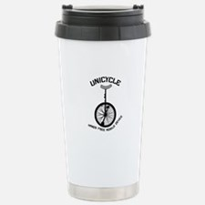 Unicycle Mobile Device Stainless Steel Travel Mug