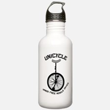 Unicycle Mobile Device Water Bottle