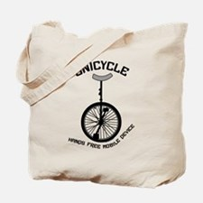 Unicycle Mobile Device Tote Bag