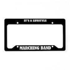 Marching Band Lifestyle License Frame Holder