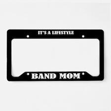 Band Mom Music License Plate Holder