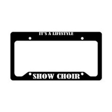 Show Choir License Plate Holder Frame
