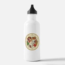 ALICE IN WONDERLAND - CREAM Water Bottle
