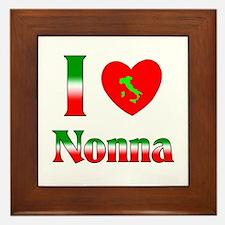 I Love Nonna Framed Tile