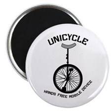 "Unicycle Mobile Device 2.25"" Magnet (10 pack)"