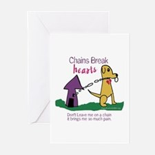 Chains Break Hearts Greeting Cards (Pk of 10)