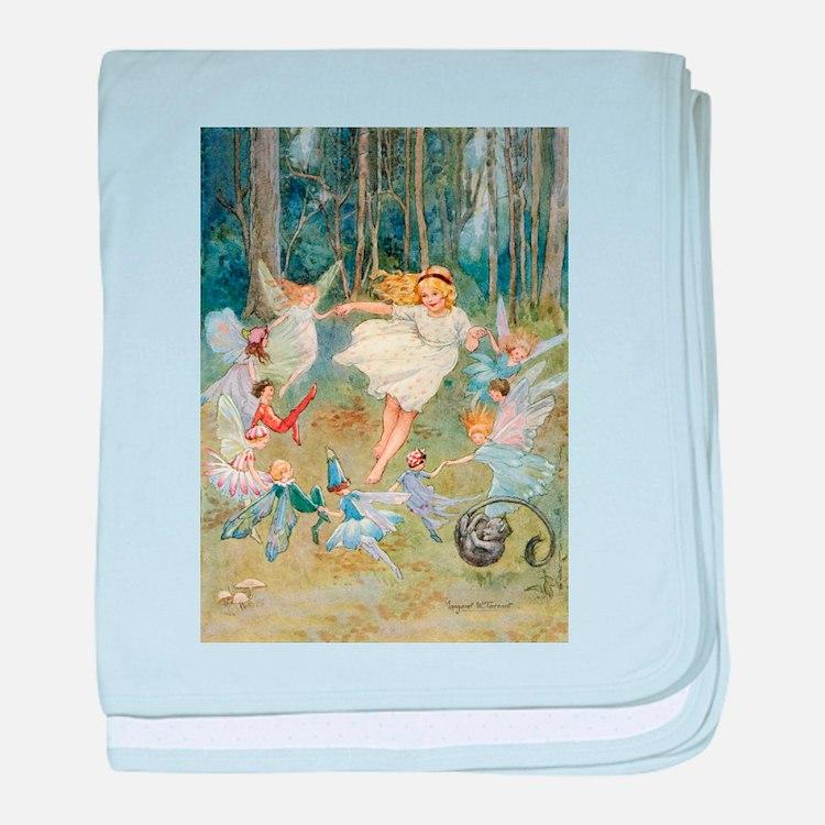dancing in the fairy baby blanket