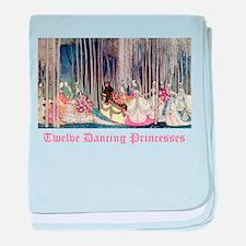 Twelve Dancing Princesses baby blanket