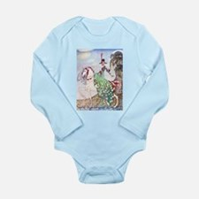 Kay Nielsen Princess Long Sleeve Infant Bodysuit