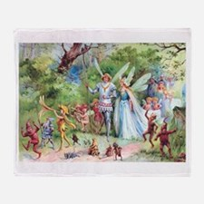 THE MARRIAGE OF THUMBELINA Throw Blanket