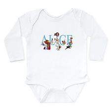 ALICE & FRIENDS Long Sleeve Infant Bodysuit