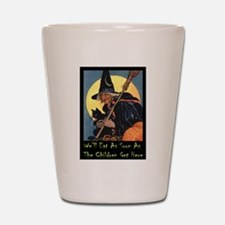 WITCH - WE'LL EAT Shot Glass