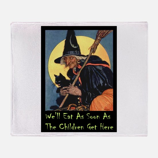 WITCH - WE'LL EAT Throw Blanket