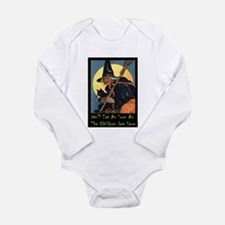 WITCH - WE'LL EAT Long Sleeve Infant Bodysuit