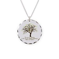 The Art Of Teaching Necklace