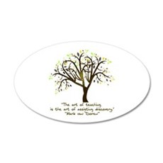 The Art Of Teaching Wall Decal
