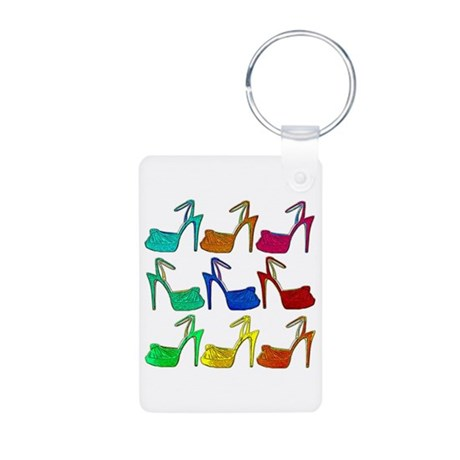 Heels Aluminum Photo Keychain