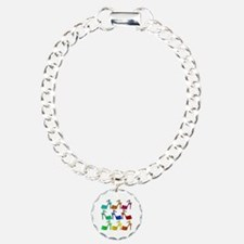 Heels Charm Bracelet, One Charm
