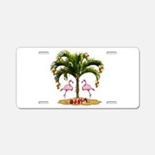Tropical Holiday Aluminum License Plate