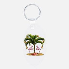 Tropical Holiday Keychains
