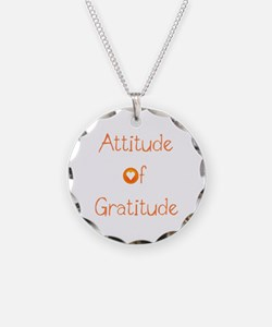 Attitude of Gratitude Necklace