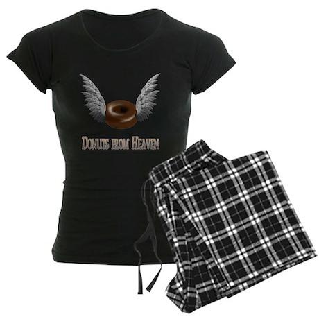Donuts from Heaven Women's Dark Pajamas