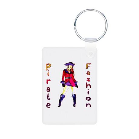 Pirate Fashion Aluminum Photo Keychain