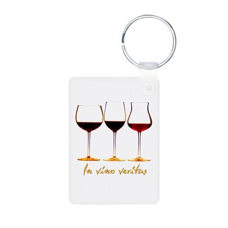 Wine Aluminum Photo Keychain