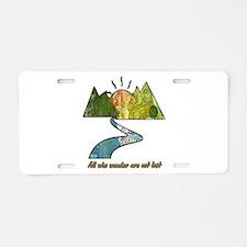 Wander Aluminum License Plate