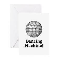 Dancing Machine! Greeting Card