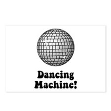 Dancing Machine! Postcards (Package of 8)