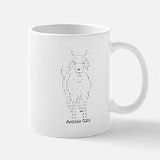 Angora Goat Geek ASCII Small Small Mug